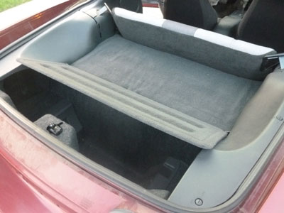 1995 Chevy Camaro - Trunk Hatch Access Panel Carpet Cover2