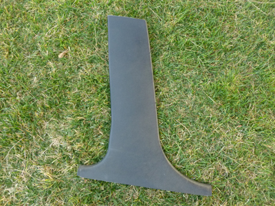 1997 BMW 528i E39 - B Pillar Interior Cover Trim, Lower Left 51438172421-main