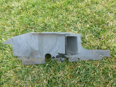 1997 BMW 528i E39 - Brake Air Scoop Duct, Right 517181594222