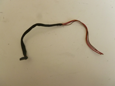 1997 BMW 528i E39 - C Pillar Light, Lamp, Right Connector, Plug w/ Pigtail 19621273