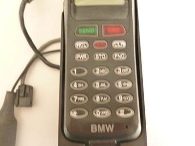 1997 BMW 528i E39 - Cell Car Phone w/ Dock and Charging Cradle 821114696482