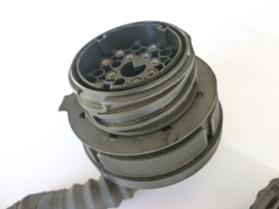 1997 BMW 528i E39 - Diagnosis Engine Bay Large Round Plug Connector w/ Pigtail 17112183
