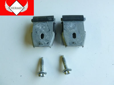 1997 BMW 528i E39 - Door Window Glass Mounting Clamps, Right or Left