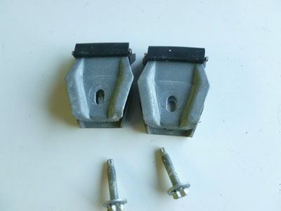 1997 BMW 528i E39 - Door Window Glass Mounting Clamps, Right or Left2