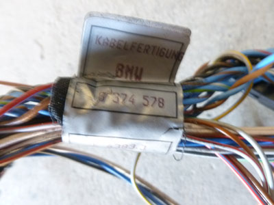 1997 BMW 528i E39 - Door Wiring Harness, Front Right 83745786