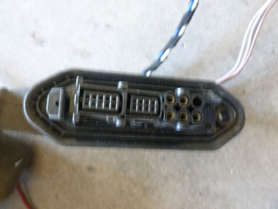 1997 bmw 528i e39 door wiring harness rear right 61118364236 1997 bmw 528i e39 door wiring harness rear right 611183642363