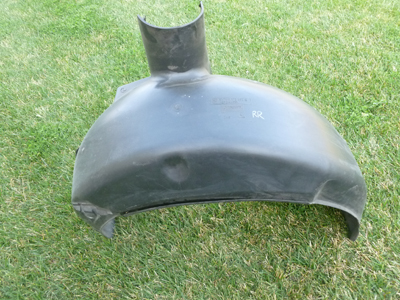 1997 BMW 528i E39 - Fender Liner Splash Guard Cover, Rear Right 51718172462Q-main