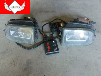 1997 BMW 528i E39 - Fog Lamps with Hid Conversion Xentec Ballasts (Pair) 63178360575