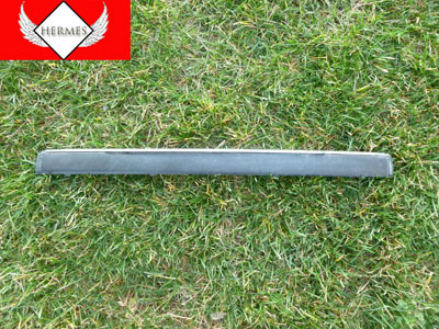 1997 BMW 528i E39 - Front Bumper Protective Moulding Trim w/ Chrome Strip, Center 51118226565