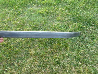 1997 BMW 528i E39 - Front Bumper Protective Moulding Trim w/ Chrome Strip, Left 51118226561-main