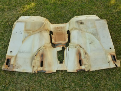 1997 BMW 528i E39 - Front Carpet Carpeting Floor Covering 514781599022
