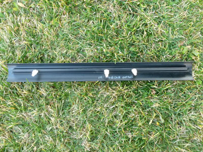 1997 BMW 528i E39 - Front Inner Door Entrance Trim Cover, Right or Left (Sill Strip) 514781594272