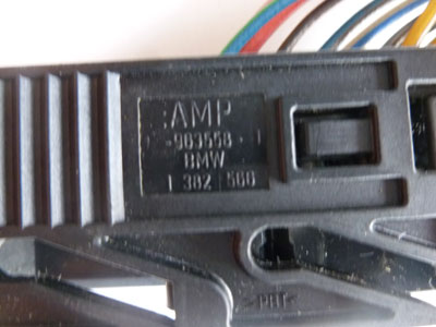 1997 BMW 528i E39 - Light and Check Control Module Loewe LCM Connector, Plug w/ Pigtail 13825663