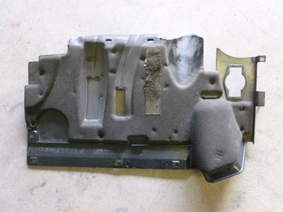1997 BMW 528i E39 - Lower Dash Access Panel, Left 514581923472