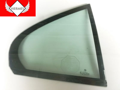 1997 BMW 528i E39 - Rear Door Fixed Vent Window Glass, Right 51348159174