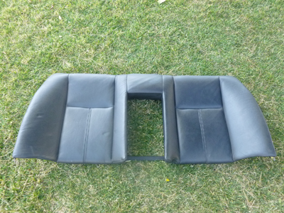 1997 BMW 528i E39 - Rear Leather Seat Back Rest 8159681
