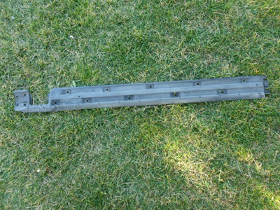 1997 BMW 528i E39 - Right Lower Exterior Door Sill Cover 51718201496