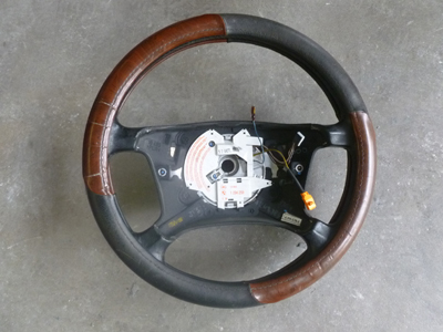 1997 BMW 528i E39 - Steering Wheel w/ Clock Spring 1094259