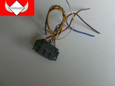 1997 BMW 528i E39 - Stereo Radio Amplifier (Amp)  Connector Plug W/ Pigtail 1378138