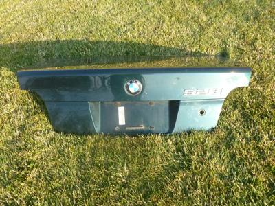 1997 BMW 528i E39 - Trunk Rear Deck Lid 41628212602