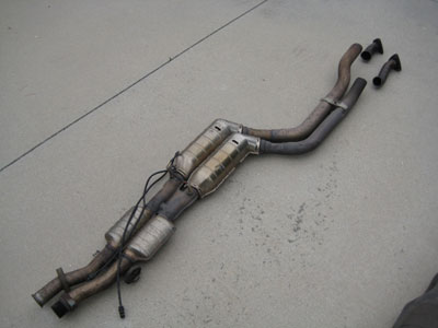 1998 BMW 328I E36 - Catalytic Converters with piping and sensors