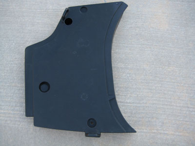 1998 BMW 328I E36 - Drivers side lower trunk plastic trim (left pad)