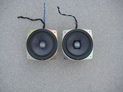 1998 BMW 328I E36 - Front Kick Panel HK Speakers