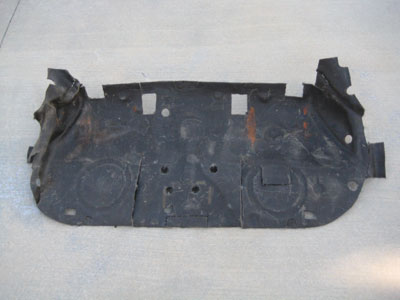 1998 BMW 328I E36 - Rear Lower Seat Insulation