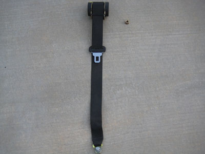 1998 BMW 328I E36 - Rear Seat Belt