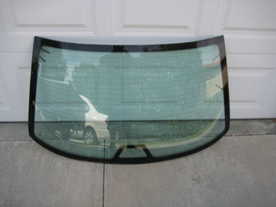 1998 BMW 328I E36 - Rear Window, Back Glass