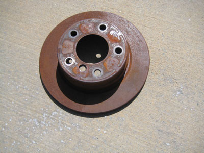 1998 BMW 328I E36 - Right Rear Brake Rotor