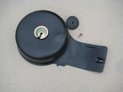 1998 BMW 328I E36 - Trunk charcoal canister cover