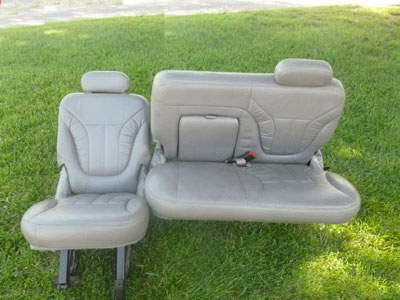 1998 Ford Expedition XLT - 2nd Row Rear Seat