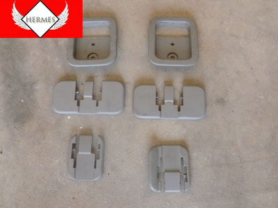 1998 Ford Expedition XLT - 2nd Row and 3rd Row Seat Feet Trim