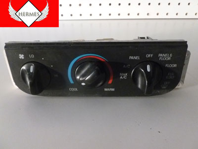 1998 Ford Expedition XLT - Dash Climate Controller AC Heater Controls