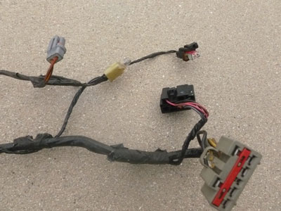 1998 ford expedition xlt door wiring harness front left. Black Bedroom Furniture Sets. Home Design Ideas