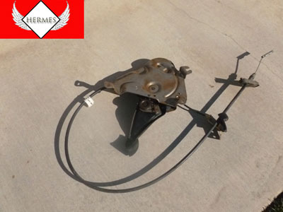 1998 Ford Expedition XLT - Emergency Parking Brake Pedal Assembly with Cable