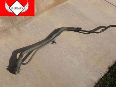 1998 Ford Expedition XLT - Fuel Filler Neck Gas Tube Hose Pipe with Cap