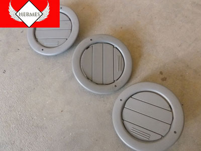 1998 Ford Expedition XLT - Headliner Roof Vents 3 Part Set