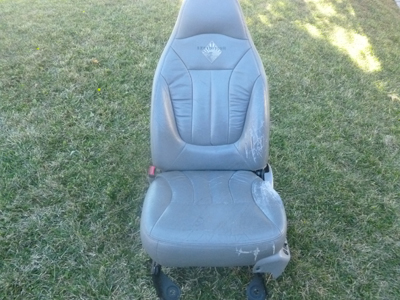 1998 Ford Expedition XLT - Leather Seat, Front Left (Driver's)-main
