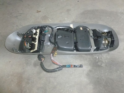 2002 Ford Explorer Xlt >> 1998 Ford Expedition XLT - Overhead Console with Climate ...