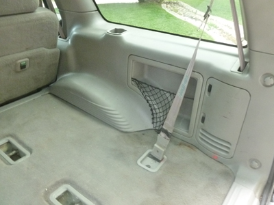 1998 Ford Expedition XLT - Quarter Panel Rear Cargo Area Trim Right