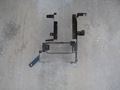2003 BMW 745Li E65 / E66 - Base Support system, front and rear