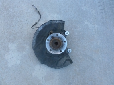 2003 BMW 745Li E65 / E66 - Hub Spindle Brake Dust Cover, Front Left