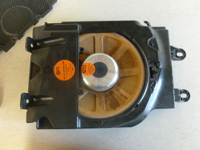2003 bmw 745li e65 e66 logic 7 l7 subwoofer speaker. Black Bedroom Furniture Sets. Home Design Ideas