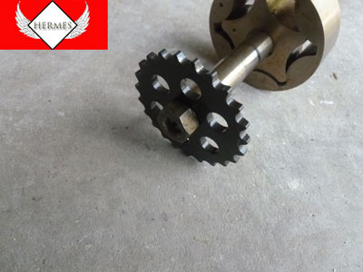 2003 BMW 745Li E65 / E66 - Oil Pump Shaft with Gear Sprocket