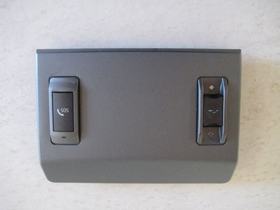 2003 BMW 745Li E65 / E66 - Overhead Controls Sunroof Switch SOS Button