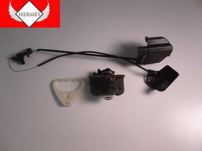 2003 BMW 745Li E65 / E66 - Trunk Lock and Cables with Emergency Release Handle