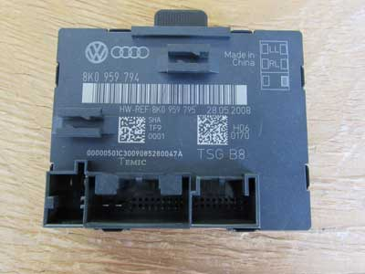 Audi OEM A4 B8 Door Control Module Unit, Rear Right 8K0959794 2009 2010 2011 S4