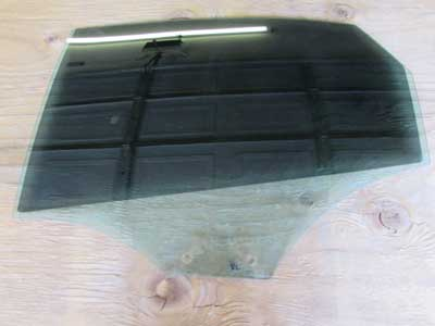 Audi OEM A4 B8 Door Glass, Rear Left 2009 2010 2011 2012 2013 2014 2015 2016 Sedan S4